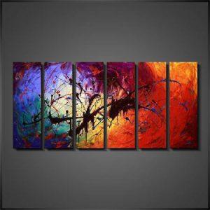 schilderijen online grote abstracte