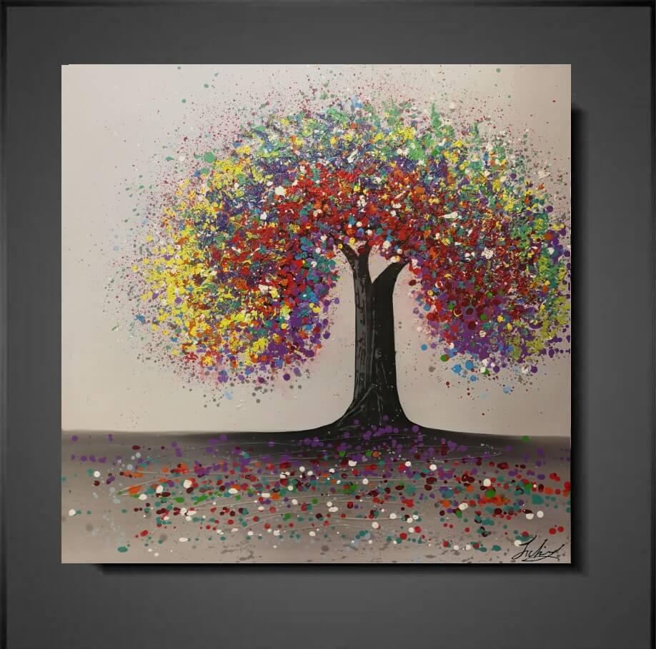 Moderne schilderijen ambious colorful mynewart for Moderne schilderijen