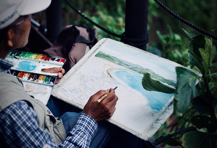 Schilderen landschap