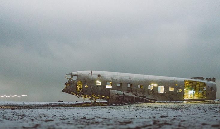 Vliegtuig urbex