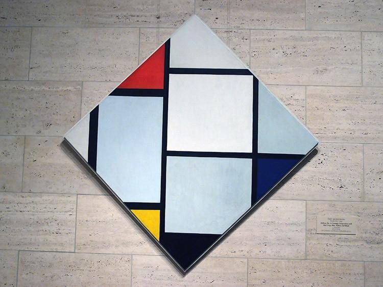 Werk van Piet Mondriaan