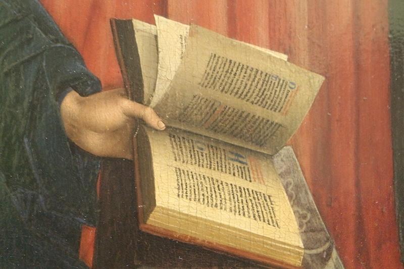 Jan van Eyck schilderij