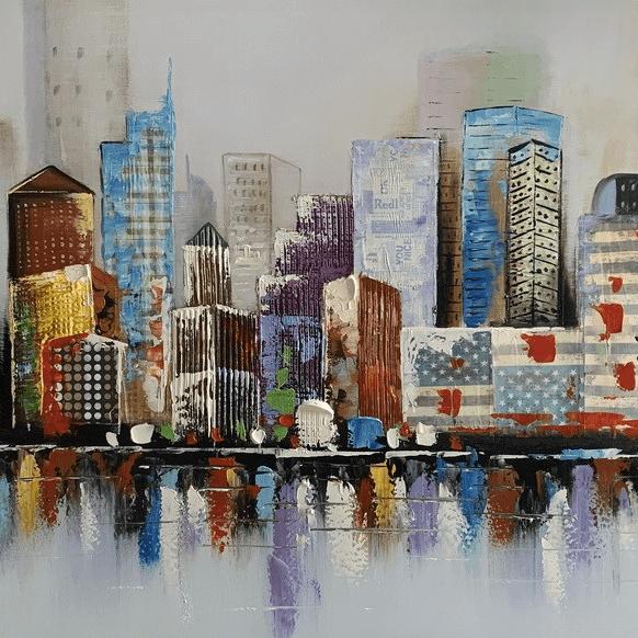 Grote schilderij