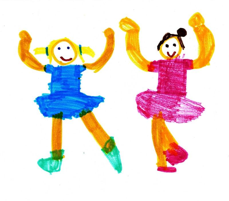 Kinder tekeningen als inspiratie