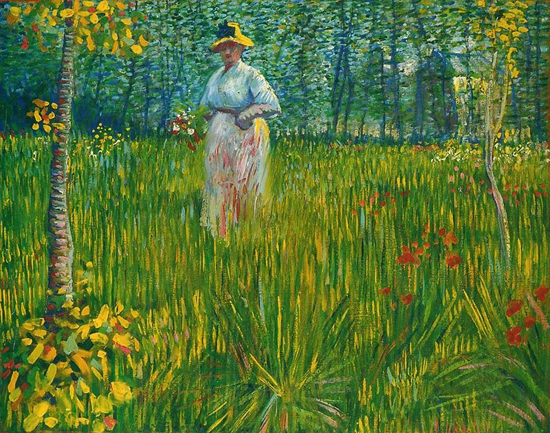 Vincent van Gogh abstractie