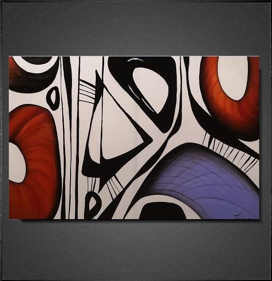 abstrakt-schilderij