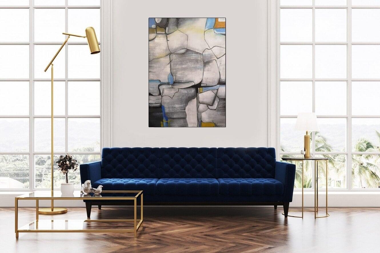 abstrakt schilderij