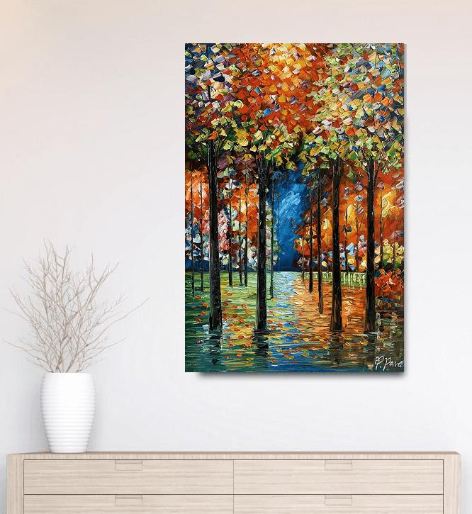 kleurrijke schilderijen